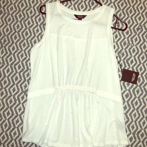NWT Lightweight White Blouse